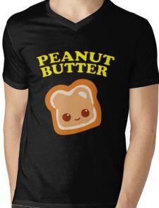 Couple - Peanut Butter (& Jelly) Mens V-Neck T-Shirt