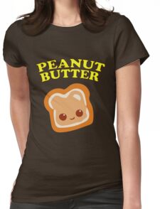 Couple - Peanut Butter (& Jelly) Womens Fitted T-Shirt