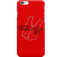 Franky D iPhone Case/Skin