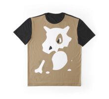 Cubone Pokemon Design Graphic T-Shirt
