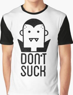 Ghost Dont Suck Graphic T-Shirt