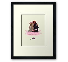 Once Upon A Captain Swan Framed Print