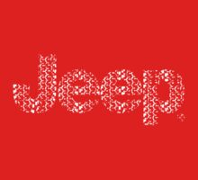 Jeep tires 3 white Kids Tee