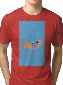 Mudkip Minimal (Pokemon) Tri-blend T-Shirt