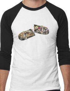 Person Pitch Skateboard  Men's Baseball ¾ T-Shirt