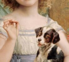 Emile Vernon - Waiting For The Vet Sticker