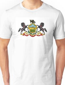 Pennsylvania state coat of arms Unisex T-Shirt