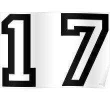 Number Seventeen Poster