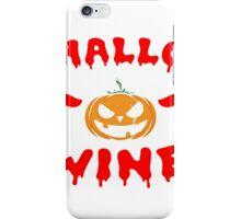 Wine Hallowine Halloween iPhone Case/Skin