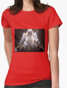 Assassin`s Creed original painting on canvas Womens Fitted T-Shirt