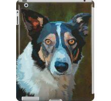 Welsh border collie iPad Case/Skin