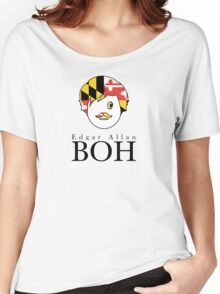 Edgar A. Boh with Maryland Flag Women's Relaxed Fit T-Shirt