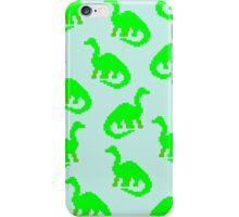 Blue Dinos  iPhone Case/Skin