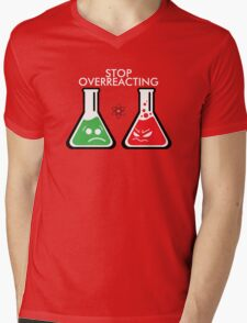 Funny Science Mens V-Neck T-Shirt