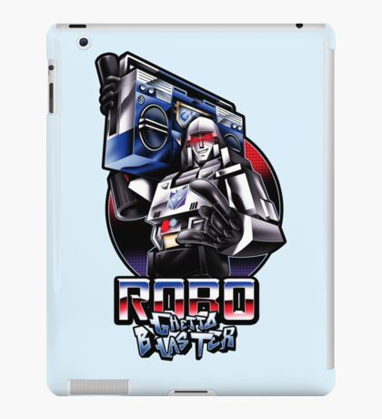 Robo Ghetto Blaster iPad Case/Skin