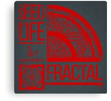 Sacred Geometry-The Seed of life-FRACTAL Canvas Print