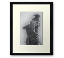 The 2 faces of Perseus Framed Print
