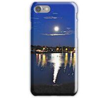 Moon Over Rhode Island iPhone Case/Skin