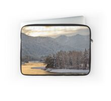 Katun river in the winter at dawn Laptop Sleeve