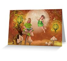 Bliss in Fairyland Greeting Card