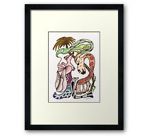 He's in surgery! Framed Print