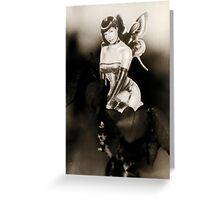 Burlesque Fairy Greeting Card