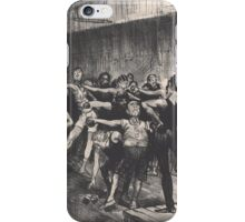 George Wesley Bellows - Businessmen Class  iPhone Case/Skin
