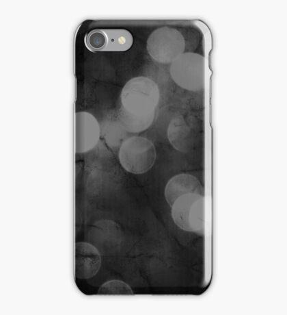 Behind colors (black) iPhone Case/Skin