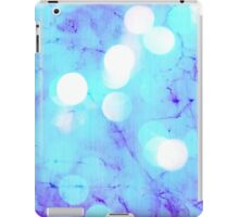 Behind colors (light blue) iPad Case/Skin