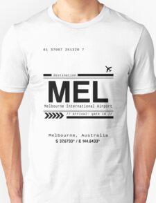 Melbourne, Australia International Airport Print Unisex T-Shirt