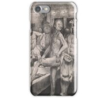 George Wesley Bellows - Shower Bath  iPhone Case/Skin