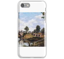 Frederick Waters Watts - An Old Bridge at Hendon, Middlesex iPhone Case/Skin
