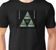 TriForce Illuminati #WeedLife Unisex T-Shirt