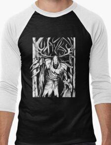 Leshen (White) Men's Baseball ¾ T-Shirt