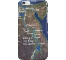 Map of Ancient Egypt iPhone Case/Skin