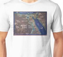 Map of Ancient Egypt Unisex T-Shirt