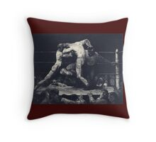 George Wesley Bellows - A Stag At Sharkeys Throw Pillow