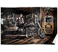Biker Chic Poster