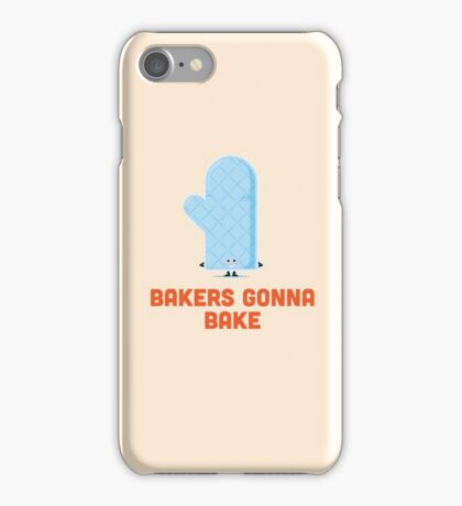 Character Building - Bakers gonna bake iPhone Case/Skin