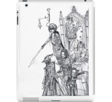 compilation of characters iPad Case/Skin