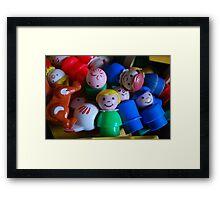 Precious childhood  Framed Print