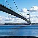 The Humber Bridge by John (Mike)  Dobson