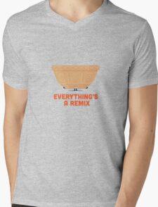 Character Building - Mixing Mens V-Neck T-Shirt