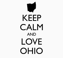 KEEP CALM and LOVE OHIO Unisex T-Shirt