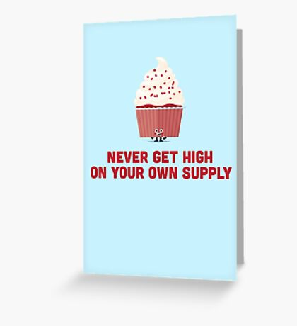 Character Building - Own supply Greeting Card