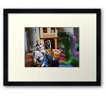 Knight to the Resque Framed Print