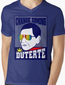 Change is Coming - Duterte Mens V-Neck T-Shirt
