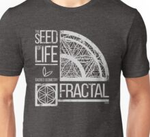 Sacred Geometry-The Seed od life-FRACTAL Unisex T-Shirt