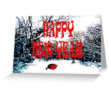 HAPPY NEW YEAR 19 Greeting Card