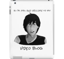 AmazingPhil - Phil's Video Blog iPad Case/Skin